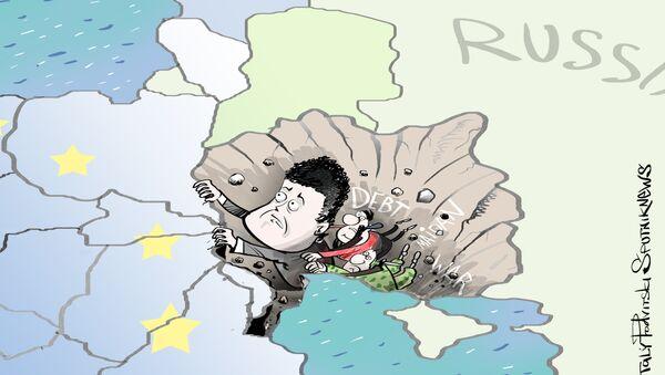 Ukrajina na pokraji - Sputnik Česká republika
