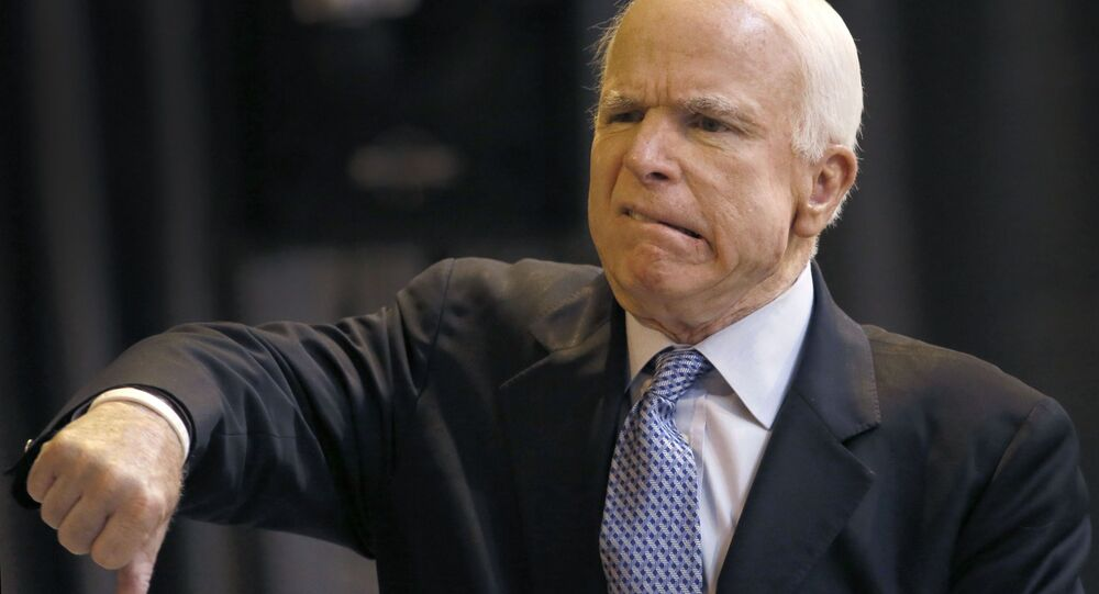 Republikánský senátor John McCain