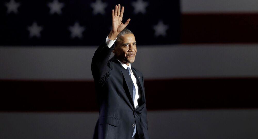 Poslední projev Baracka Obamy jako prezidenta USA