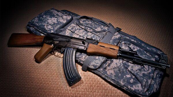AK-47. Ilustrační foto - Sputnik Česká republika