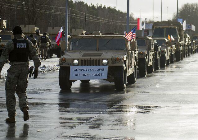Američtí vojáci v Polsku v rámci operace Atlantická rozhodnost