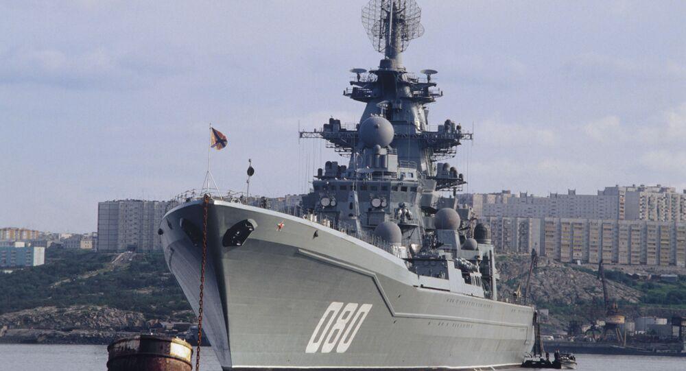 Těžký atomový raketový křižník Admirál Nachimov