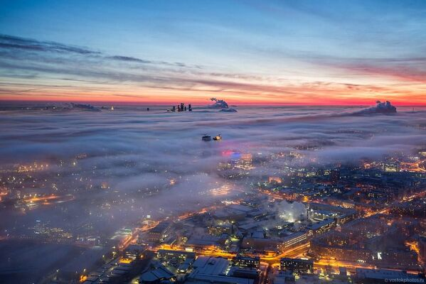 Moskva z ptačí perspektivy - Sputnik Česká republika