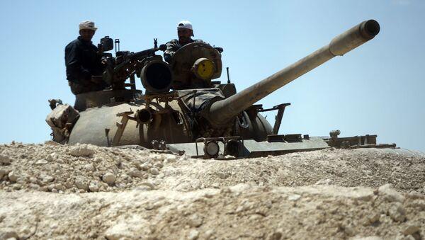 Syrský tank - Sputnik Česká republika