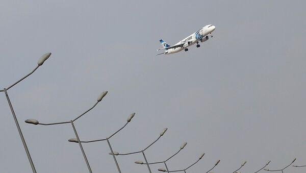 Ledalo společnosti EgyptAir - Sputnik Česká republika