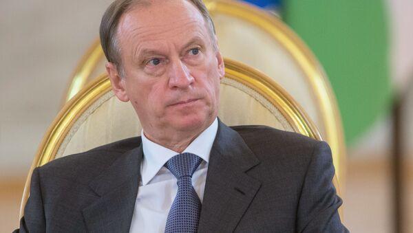 Tajemník Rady bezpečnosti Ruska Nikolaj Patrušev - Sputnik Česká republika