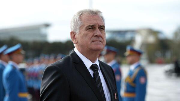 Prezident Srbska Tomislav Nikolić - Sputnik Česká republika