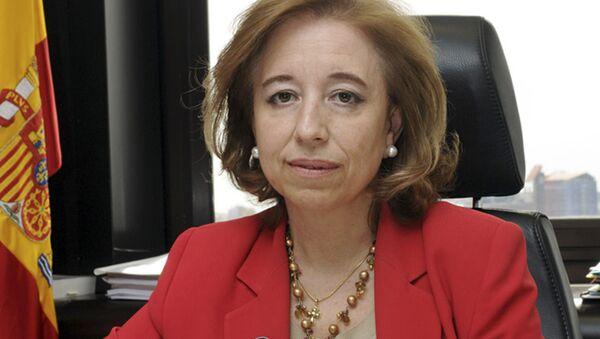 Španělská státní tajemnice pro obchod Maria Luisa Poncela - Sputnik Česká republika
