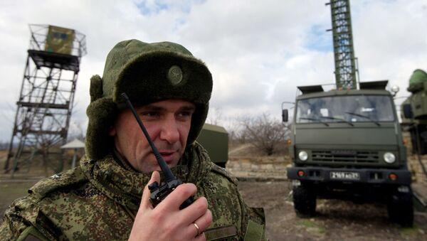 Ruský důstojník na Krymu. Ilustrační foto - Sputnik Česká republika