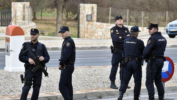 Španělští policisté - Sputnik Česká republika