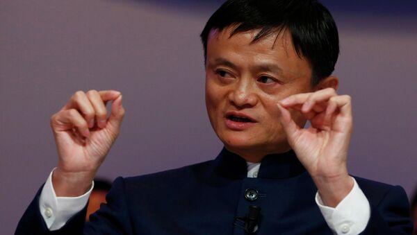 Šéf čínské společnosti Alibaba Group, Jack Ma - Sputnik Česká republika