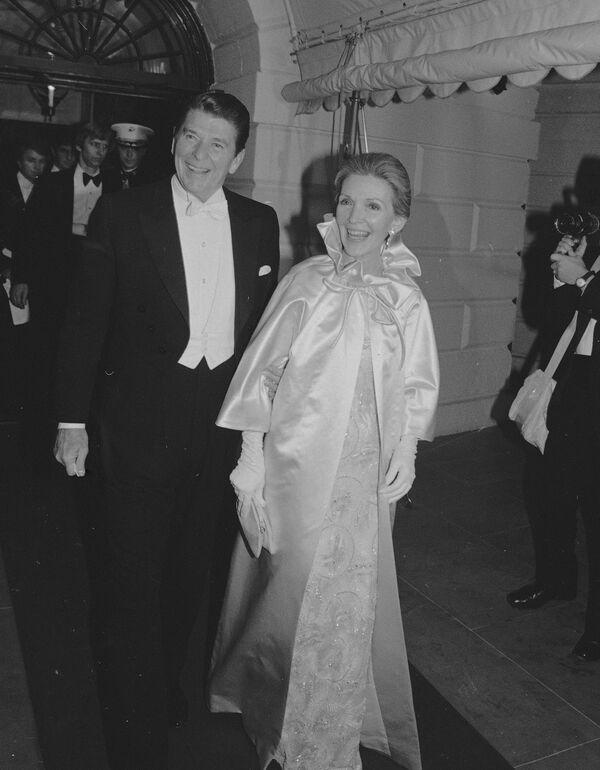 První dámy USA na inauguračních plesech - Sputnik Česká republika