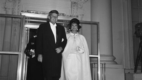 John Kennedy s manželkou - Sputnik Česká republika