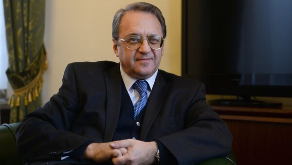 Náměstek ministra zahraničních věcí Ruska Michail Bogdanov - Sputnik Česká republika