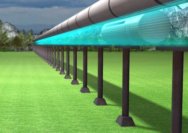 Hyperloop Kapseln