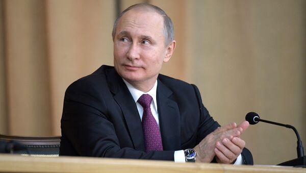 Kandidáti na prezidenta. Vladimir Putin - Sputnik Česká republika