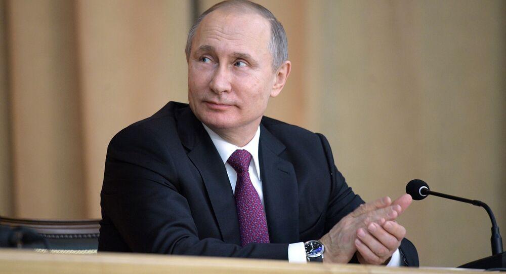 Kandidáti na prezidenta. Vladimir Putin