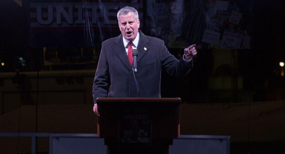 Primátor New Yorku Bill de Blasio