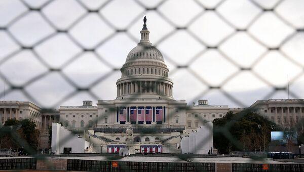 Opatření bezpečnosti ve Washingtonu - Sputnik Česká republika
