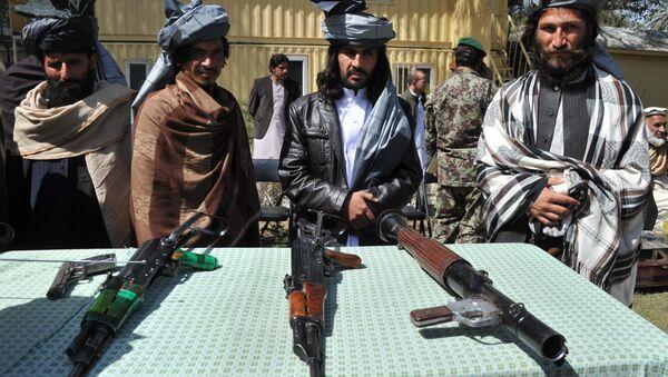 Bývalí bojovníci Talibanu. Ilustrační foto - Sputnik Česká republika