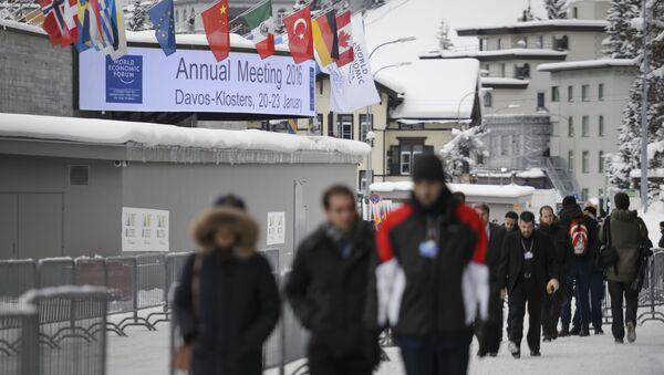 Účastníci fóra v Davosu - Sputnik Česká republika