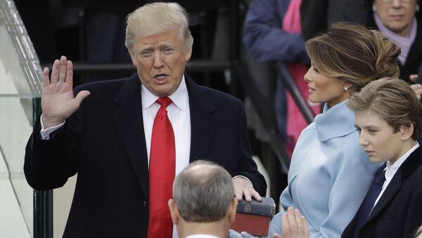 Inaugurace Donalda Trumpa: to nejlepší - Sputnik Česká republika