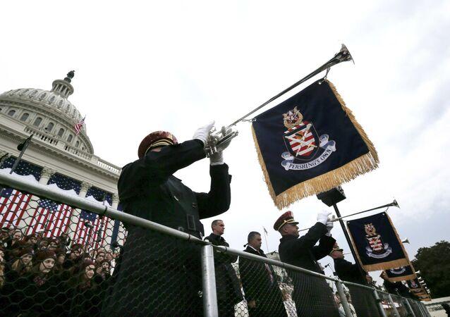 Ceremonie inaugurace Donalda Trumpa