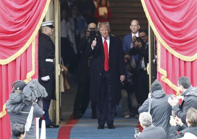 Před inaugurací Donalda Trumpa