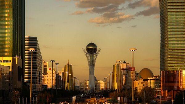 Astana golden hour. Kazakhstan - Sputnik Česká republika