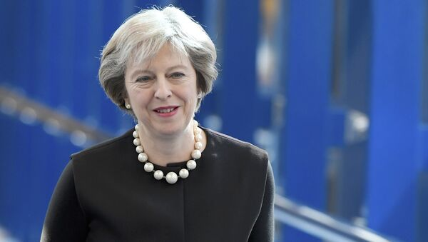 Britain's Prime Minister Theresa May - Sputnik Česká republika