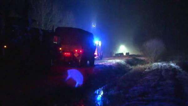 V Polsku náklaďák americké armády havaroval a vysypal náboje - Sputnik Česká republika