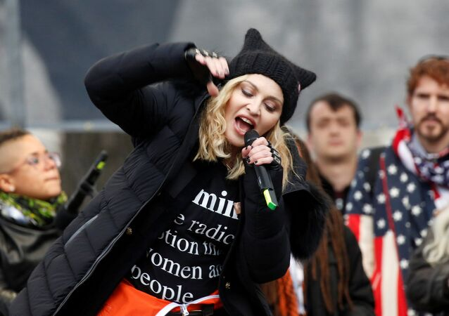 Zpěvačka Madonna