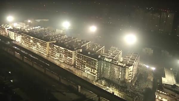 V Číně vyhodili za deset vteřin do povětří 19 budov - Sputnik Česká republika