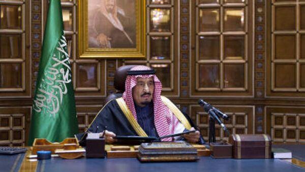 Saúdský král Salmán bin Abd al-Azíz - Sputnik Česká republika