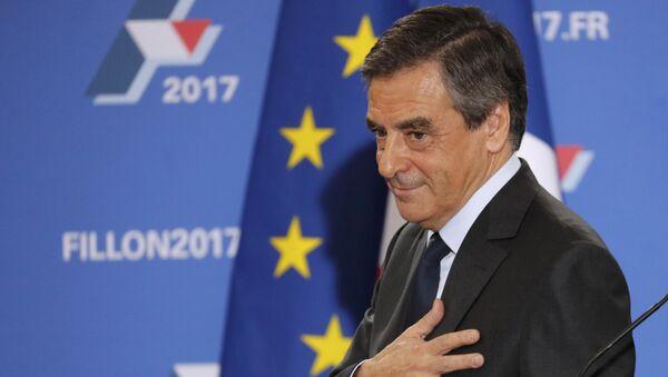 Uchazeč o post prezidenta Francie, expremiér Francois Fillon - Sputnik Česká republika