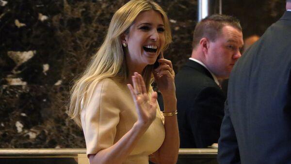Dcera amerického prezidenta Ivanka Trumpová - Sputnik Česká republika