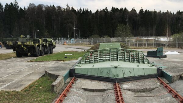 Short-range missile silos at the multifunctional radar station (MRLS) DON-2 H in Sofrino - Sputnik Česká republika