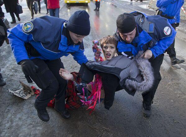 Začátek konce: hnutí Femen - Sputnik Česká republika