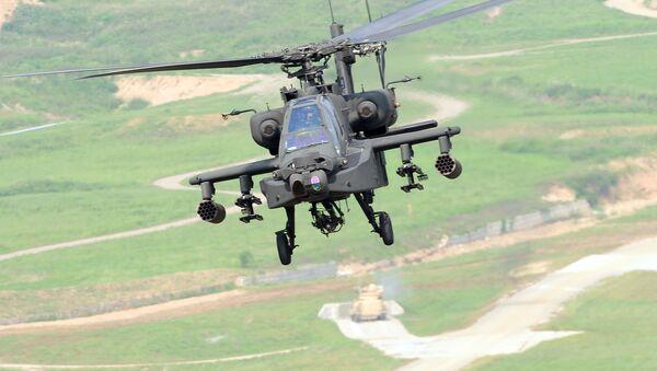 Vrtulník Apache AH-64 - Sputnik Česká republika