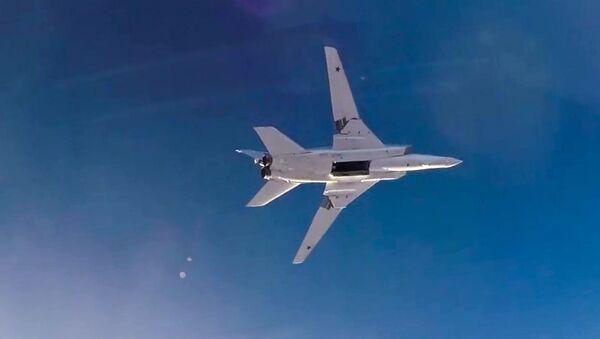 Útok Tu-22M3. Ilustrační foto - Sputnik Česká republika