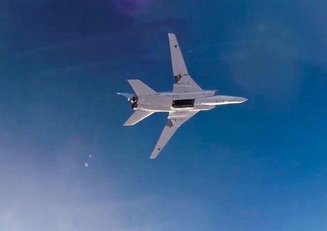 Útok Tu-22M3. Ilustrační foto