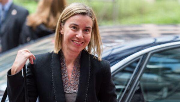 Federica Mogheriniová, šéfka evropské diplomacie. - Sputnik Česká republika
