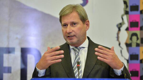 Johannes Hahn - Sputnik Česká republika