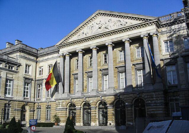 Budova federálního parlamentu v Bruselu