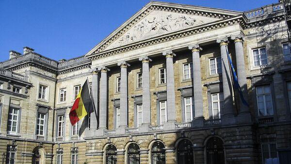 Budova federálního parlamentu v Bruselu - Sputnik Česká republika