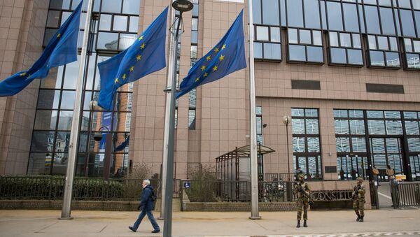 Evropský parlament v Bruselu - Sputnik Česká republika