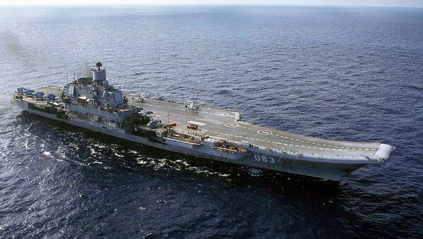 Letadlová lod´ Admiral Kuzněcov - Sputnik Česká republika