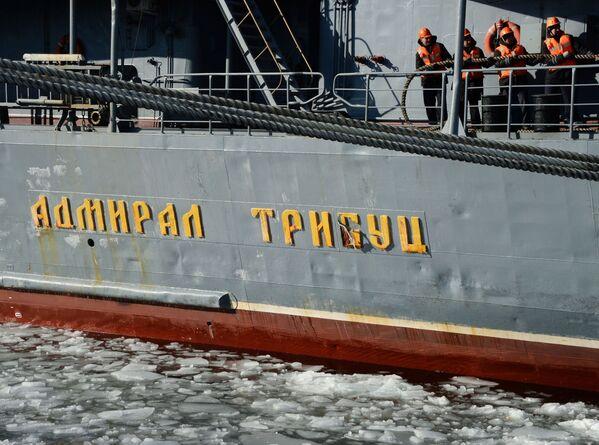 Slavnostní přivítání lodí Tichomořské flotily - Sputnik Česká republika