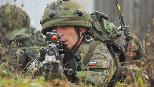 Český voják na mezinárodním vojenském cvičení - Sputnik Česká republika