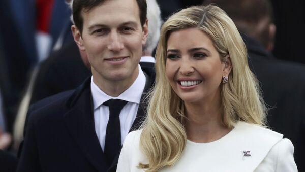 Ivanka Trumpová a její manžel Jared Kushner - Sputnik Česká republika